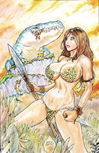 Image: Cavewoman: Rescue Party One-Shot  (cover A - Massey) - Amryl Entertainment