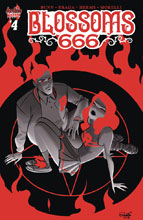 Image: Blossoms: 666 #4 (cover B - Charretier) - Archie Comic Publications