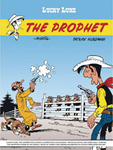 Image: Lucky Luke Vol. 73: Prophet SC  - Cinebook