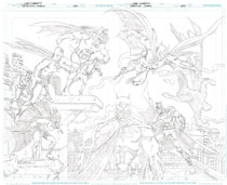 Image: Detective Comics #1000 (DFE variant cover - Jurgens sketch) - Dynamic Forces