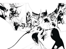 Image: Batman #50 (DFE variant cover - Jae Lee B&W) - Dynamic Forces