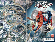 Image: Amazing Spider-Man #700 (DFE signed - Stan Lee) - Dynamic Forces