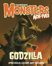 Image: Famous Monsters: Ack-Ives #1 (Godzilla) - Famous Monsters of Filmland