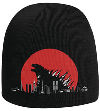 Image: Red Sun Kaiju Beanie  - Famous Monsters of Filmland