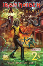 Image: Iron Maiden - Legacy of the Beast Vol. 2: Night City #2 (cover A - TBD) - Heavy Metal Magazine