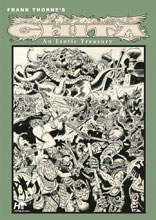 Image: Frank Thorne Ghita Erotic Treasury Archival Vol. 02  (PX edition) - Hermes Press