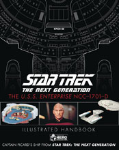 Image: Star Trek: TNG - USS Enterprise NCC-1701D Illustrated Handbook  - Hero Collector
