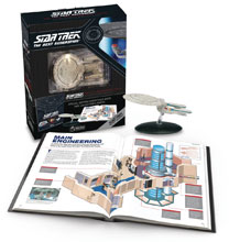 Image: Star Trek: TNG - USS Enterprise NCC-1701D Illustrated Handbook  (w/Collectible) - Hero Collector