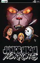 Image: Junior High Horrors #5 (cover A - Scream Spoof) - Keenspot Entertainment