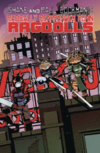 Image: Radically Rearranged Ronin Ragdolls One-Shot  (cover A - Little Eastman) - Kevin Eastman Studios