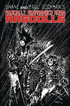 Image: Radically Rearranged Ronin Ragdolls One-Shot  (cover B - Eastman) - Kevin Eastman Studios