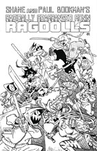 Image: Radically Rearranged Ronin Ragdolls One-Shot  (cover E - Sakai) - Kevin Eastman Studios