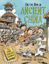 Image: On the Run in Ancient China GN  - Kids Can Press