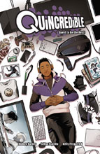 Image: Quincredible Vol. 01: Quest to be Best  - Lion Forge