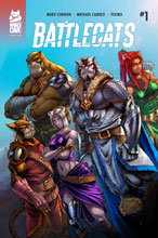 Image: Battlecats Vol. 2 #1 - Mad Cave Studios