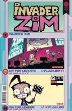 Image: Invader Zim #43 (cover A - Warren Wucinich, Fred Stresing) - Oni Press Inc.