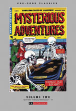 Image: Pre-Code Classics: Mysterious Adventures Vol. 02 HC  - PS Artbooks