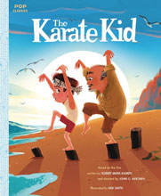 Image: Karate Kid Pop Classic Illustrated Storybook HC  - Quirk Books