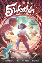 Image: 5 Worlds Vol. 03: Red Maze GN  - Random House Books Young Reade