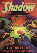 Image: Shadow #142: Five Ivory Boxes & A Quarter of Eight & Ten Glass Eyes SC  - Sanctum Productions
