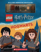 Image: Lego Harry Potter Hogwarts Handbook  (w/Mini-Figure) - Scholastic Inc.