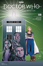 Image: Doctor Who: The 13th Doctor #8 (cover C - Jones) - Titan Comics