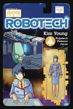Image: Robotech #20 (cover B - Action Figure) - Titan Comics