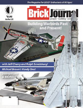 Image: Brickjournal #58 - Twomorrows Publishing