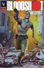 Image: Bloodshot: Rising Spirit #7 (cover A - Guedes) - Valiant Entertainment LLC