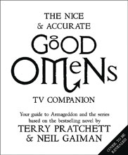 Image: Nice & Accurate Good Omens TV Companion HC  - William Morrow