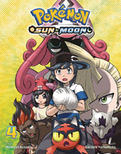 Image: Pokemon Sun & Moon Vol. 04 SC  - Viz Media LLC