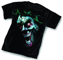Image: Joker T-Shirt: Crazy by Kieth  (S) - Graphitti Designs