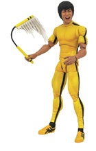 Image: Bruce Lee Select Action Figure: Yellow Jumpsuit  - Diamond Select Toys LLC