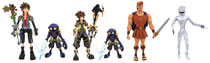 Image: Kingdom Hearts 3 Select Series 2 Figure Assortment  - Diamond Select Toys LLC