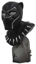 Image: Legends in 3D Marvel Bust: Avengers 3 - Black Panther  (1/2 scale) - Diamond Select Toys LLC
