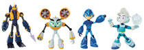 Image: Megaman Fully Charged 6-Inch Action Figure Wv1 Assortment  - Jakks Pacific