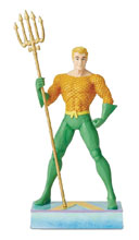 Image: DC Heroes Silver Age Figurine: Aquaman  - Enesco Corporation