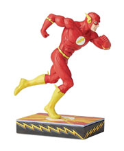 Image: DC Heroes Silver Age Figurine: Flash  - Enesco Corporation