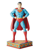 Image: DC Heroes Silver Age Figurine: Superman  - Enesco Corporation