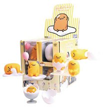 Image: TLS x Gudetama Mini-Figure 12-Piece Display Wv2  - Bandai America