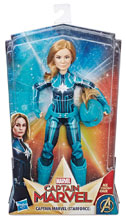 Image: Captain Marvel Starforce Doll Case  - Hasbro Toy Group