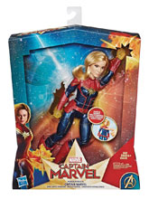 Image: Captain Marvel Feature Fashion Doll Case  - Hasbro Toy Group