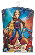 Image: Captain Marvel Deluxe Hero Fashion Doll Case  - Hasbro Toy Group