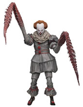 Image: It 2017 Ultimate Action Figure: Dancing Clown Pennywise  (7-inch) - Neca
