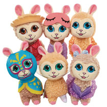 Image: Who's Your Llama Plush Ser1 Assortment  - Jakks Pacific