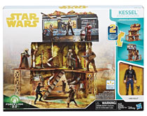 Image: Star Wars: Solo Kessel Mine Escape Playset Case  - Hasbro Toy Group