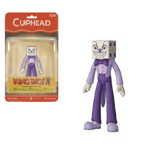 Image: Funko Cuphead Action Figure: King Dice  - Funko