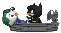 Image: Pop! Movie Moment Vinyl Figure: Batman 80th - Batman & Joker  (1989) - Funko