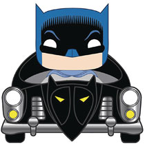 Image: Pop! Rides Vinyl Figure: Batman 80th - 1950 Batmobile  - Funko