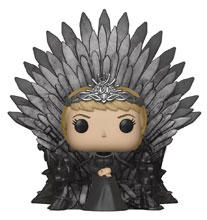 Image: Pop! Deluxe Game of Thrones Vinyl Figure: Cersei on Iron Throne  - Funko
